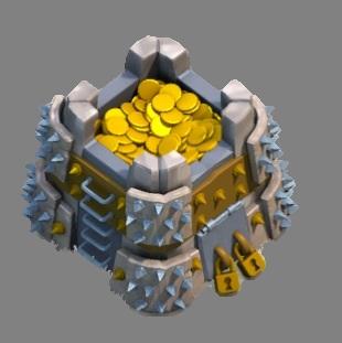 Gold_Storage10 ربات کلش ربات تمام اتوماتیک مگاکلش Gold Storage10